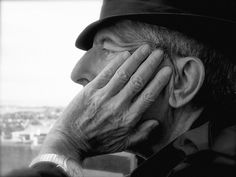 Leonard Cohen by Dominique Issermann