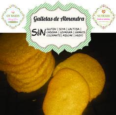 Sugar free, sin azucar, paleo, almendras, galletas, dieta