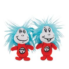 Dr. Seuss Thing 1 & Thing 2 Dog Toy | Petco