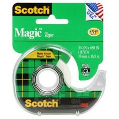 "Scotch® Magic Tape, 3/4 Inch ""One of those things that I never remember we're out of until I need it, so buying online is great."""