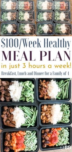 This is such a healthy meal plan to lose weight on a budget. This helped us do more clean eating for our family but has simple recipes making it easy for beginners. We made 2 w Healthy Frozen Meals, Healthy Meal Prep, Healthy Meal Planning, Healthy Food, Healthy Quick Meals Clean Eating, Healthy Family Meal Plans, Eating Healthy On A Budget For One, Healthy Premade Meals, Freezer Meals Healthy