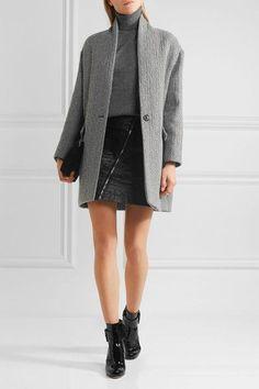 Étoile Isabel Marant - Edilon Woven Coat - Gray - FR40