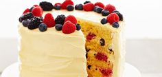Ingredients Makes: 12 servings Cook: 29 minutes Nonstick cooking spray for baking, Pam® 1 box yellow cake mix, Betty Crocker® 3 eggs 1 Fun Baking Recipes, Sweet Recipes, Cake Recipes, Cute Desserts, Summer Desserts, Sweets Cake, Cupcake Cakes, Cupcakes, Delicious Deserts