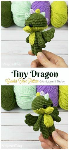 2019 All Best Amigurumi Crochet Dragons Free Patterns - Amigurumi ... | 513x236