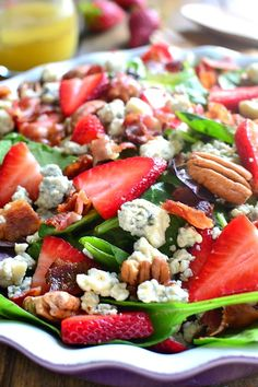 Salad is always the best option if you're looking for a nutritious meal which is low on fat. Pick one of these simple salad recipes!