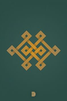 Khatan Suikh - symbol of love and honesty. By Enkhtuvshin Ts, via Behance
