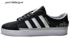 Adidas Originals Rayado Low Sneakers Mens Carbon/Silver/Metallic Gold/White HOT SALE! HOT PRICE!