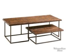 Nesting Table - space saver