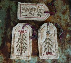 Hey, I found this really awesome Etsy listing at https://www.etsy.com/listing/484649503/hand-stitched-christmas-tree-hang-tags