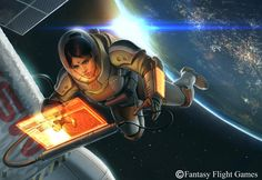 Space Walk by Matt Zeilinger