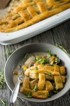 Slow-Cooker Chicken Pot Pie