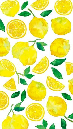 Summer Lemons by iPhone Wallpapers in