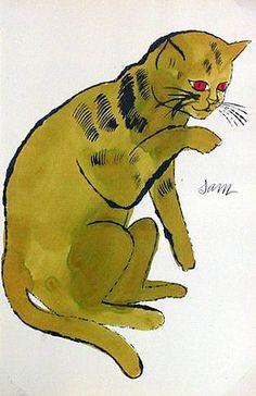 Andy Warhol, Sam the Cat