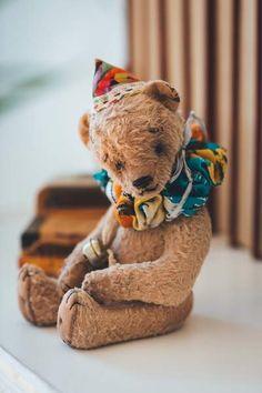 Artist Teddy bear Clown By Klavdija Tarasova - Bear Pile