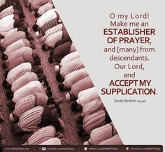 Quran 14:40