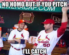 Yadier Molina and Adam Wainwright