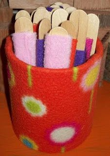 Texture Sticks-could be used for fidget toys during circle time. There are some kids that just need to have their hands busy so they don't bother others.