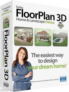 Turbo Floor Plan 3D Home &Amp;Amp; Landscape Pro 16 Turbo Floorplan Cad Design Software