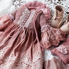 💮Dress for doll 💮BoosiNKa💮 (@boosinka_nk) • Φωτογραφίες και βίντεο στο Instagram Baby Girl Dresses, Baby Dress, Girl Outfits, Boho Fashion, Kids Fashion, Fashion Dresses, Doll Clothes Patterns, Clothing Patterns, Doll Patterns