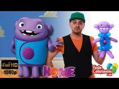 Alieno OH - Film Home - Ballon Art - Tutorial 160 - Feste Compleanni - YouTube Balloon Art OH, Home movie. Video tutorial per realizzare una scultura di palloncini a forma dell'alieno OH del film Home.
