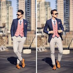 Mixture of colors yet so fashionable and a sharp look and its killing it