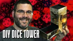 Constantly losing dice of your table? Well NO MORE! Today I show you how to make a simple dice tower out of foam core to keep your dice safe on the table, an...
