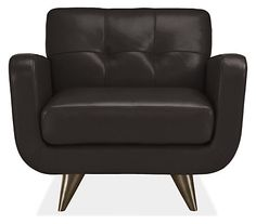 Anson Leather Chair - Chairs - Living - Room & Board