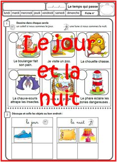 CP : le jour et la nuit French Classroom, Teaching French, Day For Night, Science Art, Teaching Tools, Homeschool, Education, Teacher, Blog