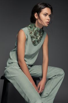 """The IRIS piece.  Neck piece By PIECE. //The """"Volume 1"""" Collection www.piece-collection.com"""