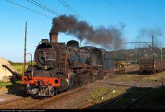 High quality photograph of South African Railways SAR Class # SAR No. 2767 at Umkomaas - KwaZulu Natal South Coast, South Africa. South African Railways, Old Trains, Kwazulu Natal, Train Engines, Busses, Steam Engine, Steam Locomotive, Motorbikes, Abandoned