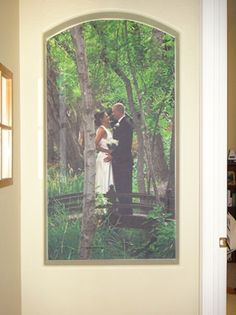Great Customer Examples - Page 8 | Murals Your Way  of course our wedding picture