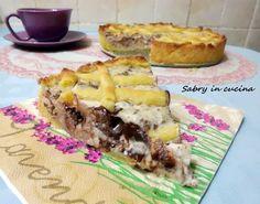 Crostata ricotta e cioccolato - Sabry in cucina