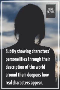 Read 5 tips on how to describe place and character.