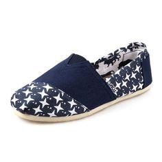 New Arrival Toms women shoes Shuriken dark blue