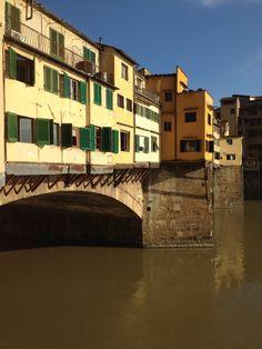 Apartments along the Ponte Vecchio, Florence