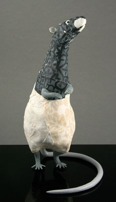 Yu Rat by Susan O'Byrne  Ceramic
