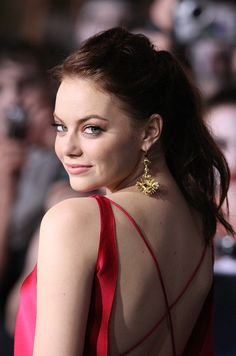 September 2009—Ravishing Red  // Emma Stone