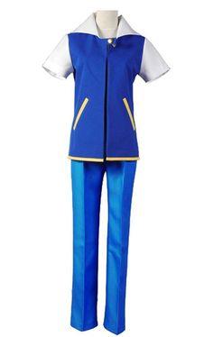 Pokemon Satoshi go ash ketchum cosplay Kostüm Herren Erwachsene Full Set  Karnval