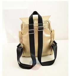 Artsivaris Cute Owl Backpack Women Leather Rucksack Travel School Shoulder Bag