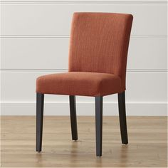 Lowe Persimmon Upholstered Dining Chair - Crate and Barrel