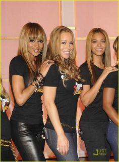 Ciara, Miriah, Beyonce