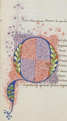 Vatikan, Biblioteca Apostolica Vaticana, Pal. lat. 1638 Vergilius Maro, Publius Opera — Pays-Bas (?), 15. Jh. Page: 16r Citation link: i http://digi.ub.uni-heidelberg.de/diglit/bav_pal_lat_1638/0037