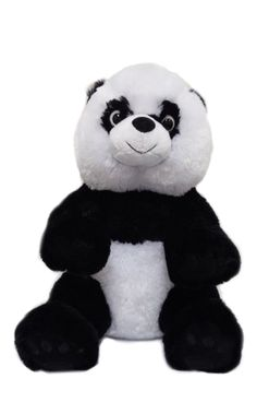 "Singing 16"" plush Panda which plays custom music featuring your child's name."