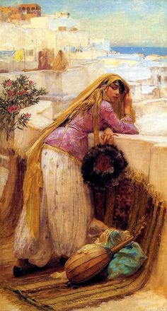 "Frederick Arthur Bridgman (November 10, 1847 – January 13, 1928) was an American artist known for his paintings ""Orientalist"" subjects."