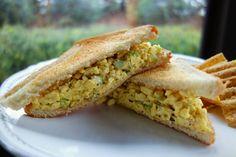Scrambled egg salad. My all time fave sandwich is a scrambled egg sandwich so I have to try this!
