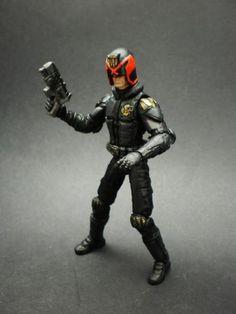 Judge Dredd (Marvel Universe) Custom Action Figure