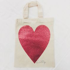 Personalised Mini Tote Bags for sale at #Jual #personalisedgifts add your name to make each bag bespoke ✌️ £8.99 contact olivia@jual.co.uk for more details ❤️ #personalisedbags