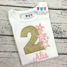 Twinkle Twinkle Little Star Birthday Outfit Baby by SewSoDarling