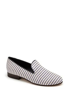 CB Made in Italy Canvas Slipper Flat available at #Nordstrom