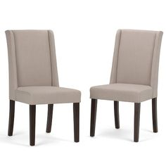 You're looking for the perfect stylish and affordable dining chair to match your dining table. The Sotherby Deluxe Dining Chair is a tasteful, well made seating solution. It is made with a luxurious Natural linen look fabric and features a beautiful subtle wingback and a wide comfortable seat. This dining chair features high density foam for luxurious comfort. Whether you use this dining chair in your dining room or kitchen, it is a stylish piece you will be proud to show off and will add...